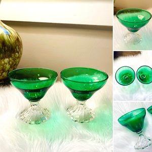 🦋2/$10 3/$15 4/$18 5/$20 Vintage Green Gla…